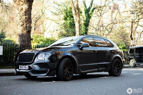 Bentley Bentayga Onyx Concept Gtx 17 Mrz 2018 Autogespot