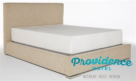 Hotels With Memory Foam Mattress by Providence Hotel 8 Quot Gel Memory Foam Mattress Livingsocial