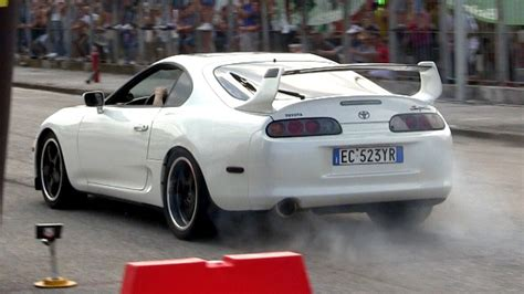 Toyota Supra 2jz Toyota Supra 2jz Gte Accelerations Sound