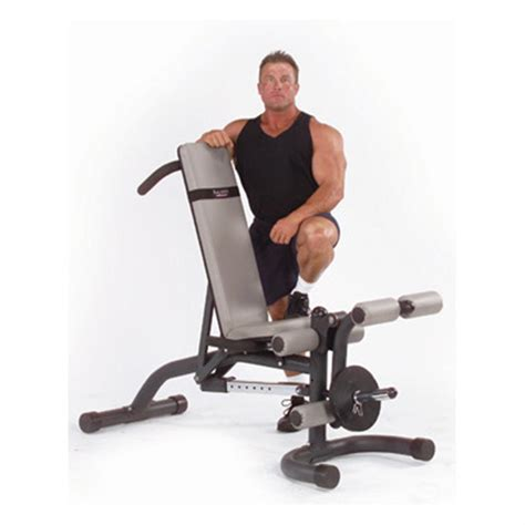 leverage bench body solid 174 leverage flat incline decline bench 134914 at sportsman s guide