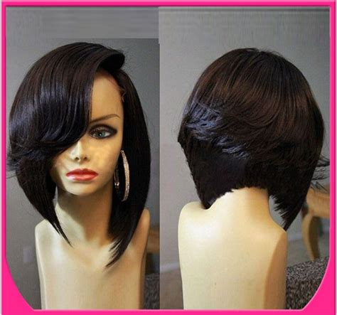 lace wig shorter hairstyles 100 remy human hair full lace wigs lace front wig short