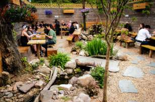 backyard restaurant park slope brooklyn s backyards the best restaurants with outdoor
