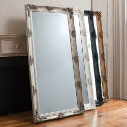 large gold leaner full length mirror amelia gold