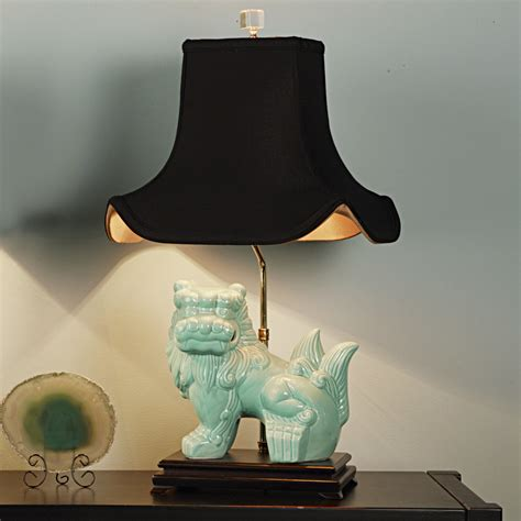 foo dog table l chic turquoise foo dog table l shades of light
