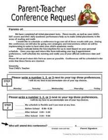Parent Letter Requesting Gifted Testing Parent Conference Request Form Letter To Send Home By Mrsnemer