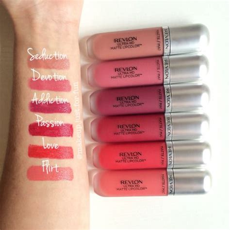 Lipstick Revlon Ultra Hd Matte revlon ultra hd matte liquid lip color lipstick choose a shade