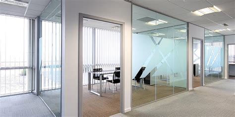 Room Partition Designs by Office Partitions Amp Glass Panels O Brien 174 Glass