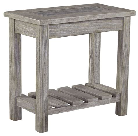 chair and end table veldar whitewash chair side end table from t748 7