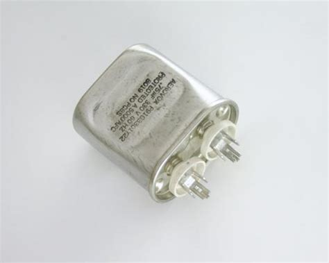 how to read metal capacitor new aerovox 75uf 330vac hid lighting capacitor oval metal can p91g3301y22