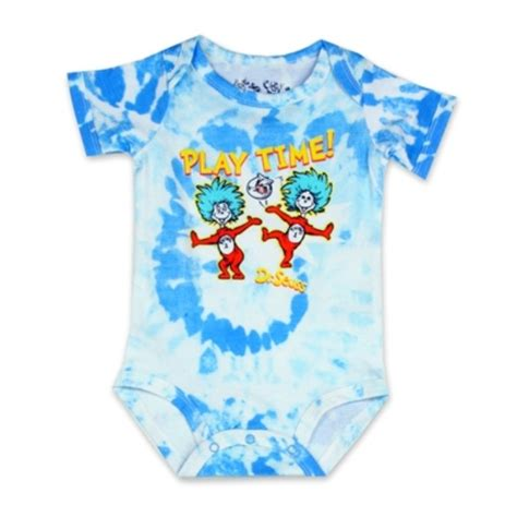 dr seuss cat in the hat thing 1 thing 2 baby clothes