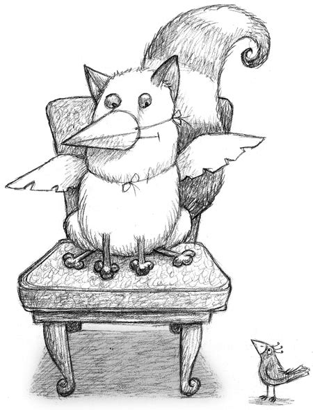 what is the catbird seat sitting in the catbird seat sketched out