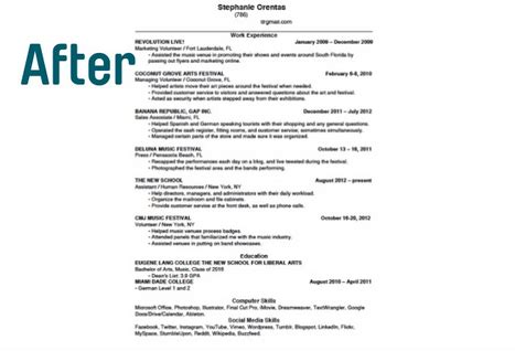 how to format a resume to fit on one page 17 ways to make your resume fit on one page findspark