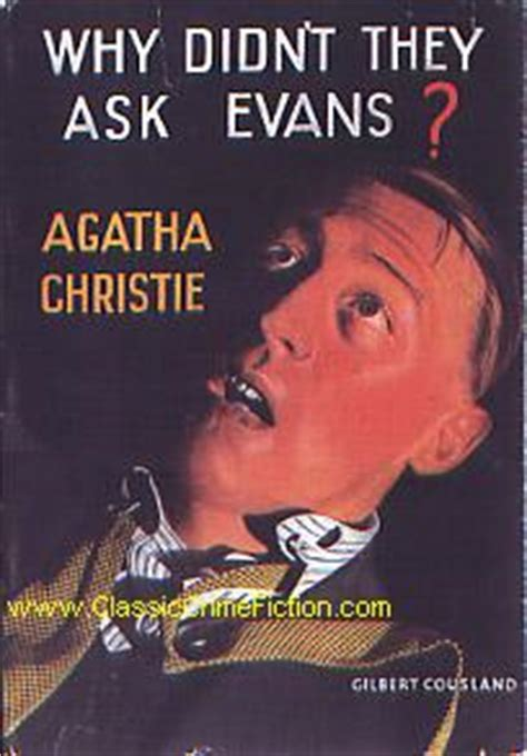 libro why didnt they ask agatha christie why didn t they ask evans first edition