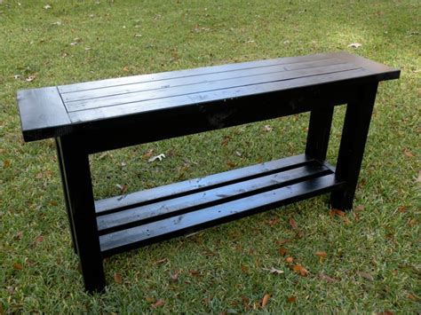 assemble yourself sofa tryde console table do it yourself home projects from