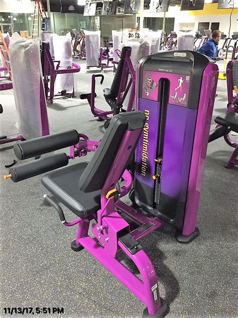 delivery installation  planet fitness  washington