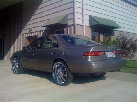 Custom 2001 Toyota Camry My Car Different Color And Different Wheels