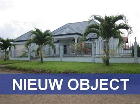huis kopen in suriname huis kopen paramaribo