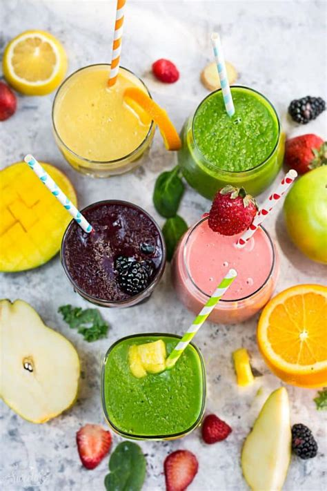 How To Make Healthy Detox Smoothies by 5 Healthy Delicious Detox Smoothies Made