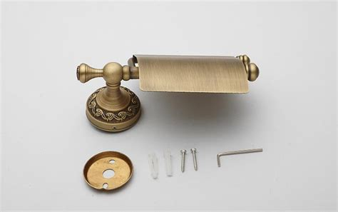 Antique Bronze Bathroom Accessories European Antique Bronze Brass Carved Bathroom Accessories Retro Set Home Decor Ebay