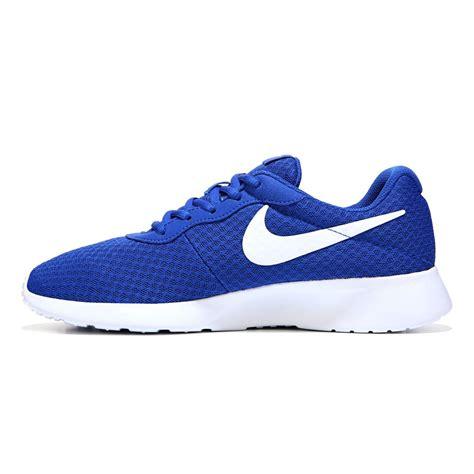 Nike Tanjun Royal White Original Nike S Tanjun Running Shoes Royal Blue White