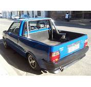 Styling Fiat Uno Bakkie Pick Up  Not Mine The FIAT