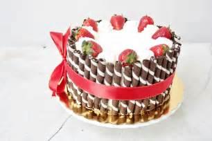 poetry strawberry amp cream birthday cake