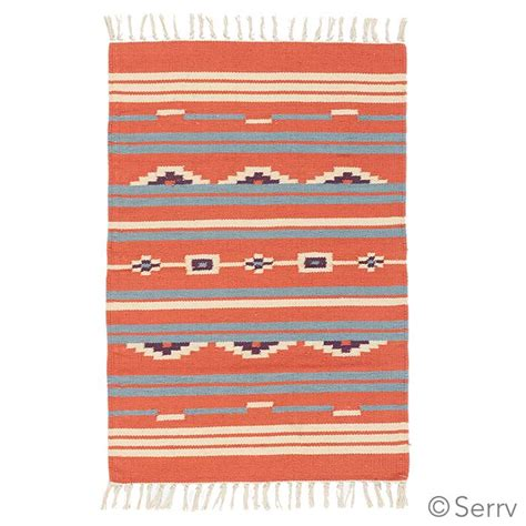 Flat Weave Kilim Rugs by Pillows Rugs Coral Kilim Flat Weave Rug