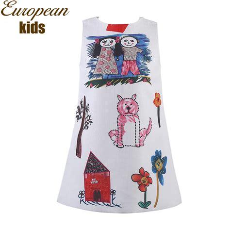 pattern clothes buy aliexpress com buy girls dresses summer 2016 designer a