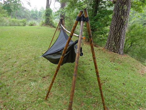 diy tripod c chair bamboo hammock stand bamboo tripod hammock stand and