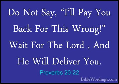 say i ll pay with google and keep your phone in pocket tnd proverbs 20 22 do not say quot i ll pay you back for this