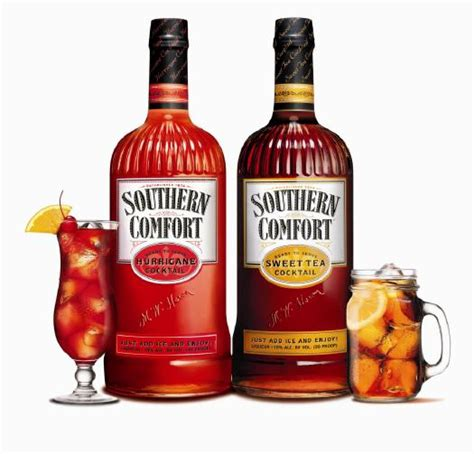 Cocktail Made With Southern Comfort review southern comfort sweet tea and hurricane cocktails