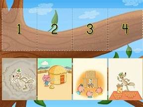 sequencing pigs game game education