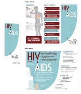 hiv aids brochure templates tested for hiv aids brochure pictures to pin on