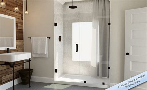 Alumax Frameless Shower Doors Shower Doors Bathroom Enclosures And Shower Bath Enclosures Alumax