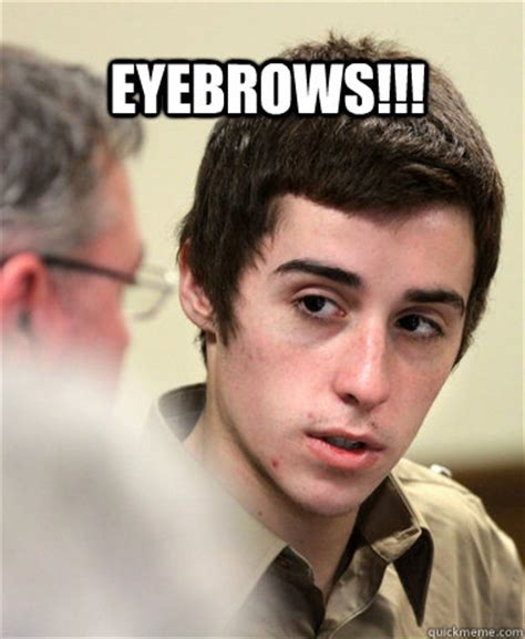 Eyebrows Internet Meme - eyebrows misc quickmeme