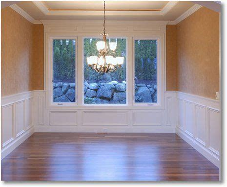 chair rail with picture frame 25 best ideas about chair rail molding on diy