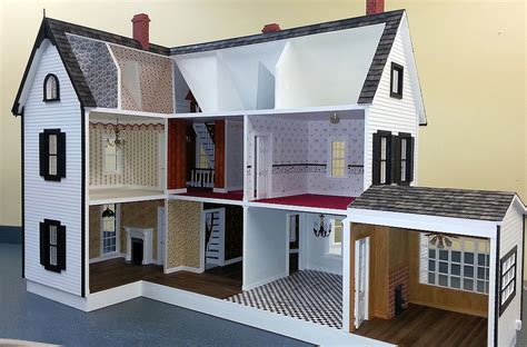 Handcrafted Dollhouse - nonnie s dollhouses handcrafted dollhouses frederick md