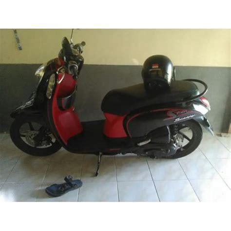 Karpet Motor Honda Scoopy Hitam Merah Karpet Motor Karpet Motor Matic motor honda scoopy 2013 merah hitam mulus dijual