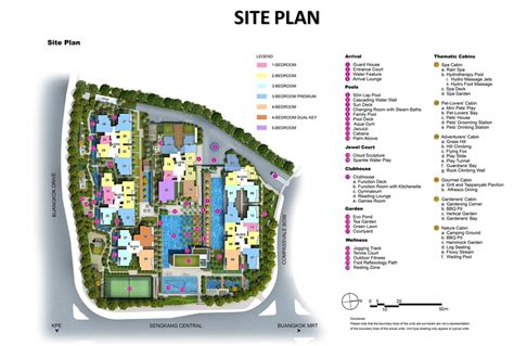 site plan buangkok site plan developer official