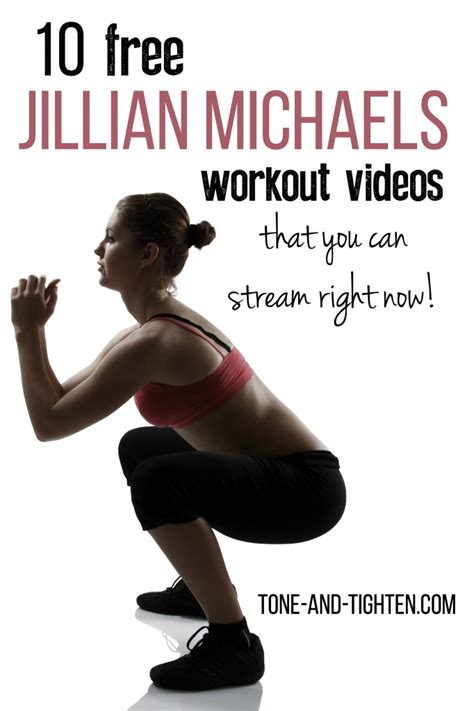 10 of the best jillian michael s free length workout