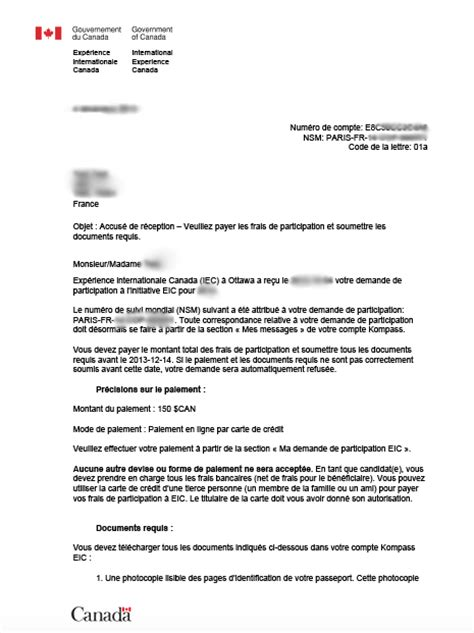 Lettre De Motivation Demande De Visa Canada Modele Lettre 2 Pages Document
