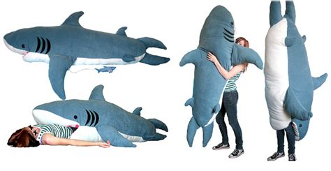 shark pillow sleeping bag in a nutshell