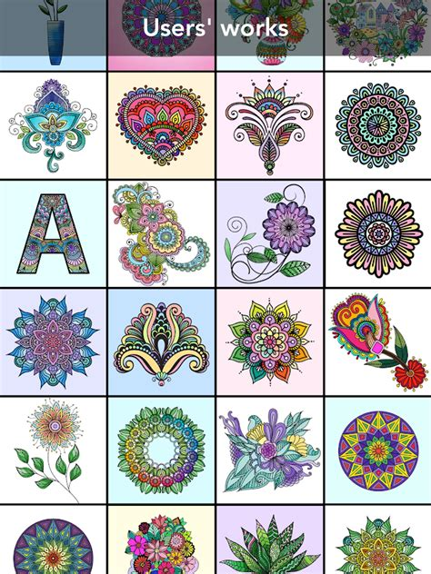 mandala coloring book apk mandala coloring book android apps on play