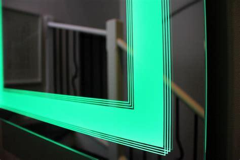 led bathroom mirror lights deco bathroom lighted mirror clearlight designs