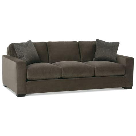 rowe loveseat rowe dakota three cushion contemporary sofa belfort
