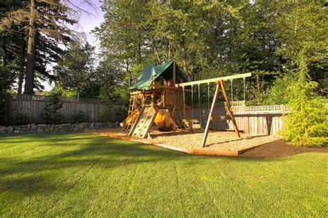 kids backyard swing set backyard playground and swing sets ideas backyard play