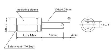 electrolytic capacitors sizes jrg 10000h at 105 176 c leaded radial aluminum electrolytic capacitor jb