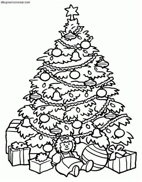 imagenes de arboles de navidad para colorear bonitos dibujos de arboles de navidad para colorear