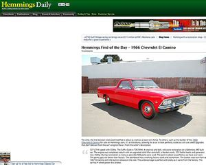 hemmings motor news classified ads 11 must read web for the classic car fan classic