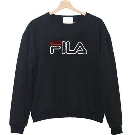 Sweater Fila Logo fila logo sweatshirt